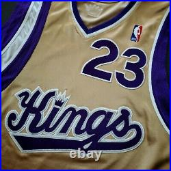 100% Authentic Kevin Martin Sacramento Kings 05 06 Game Worn Issued Jersey Used