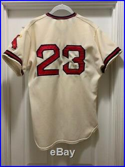 1974 Game Used Worn Dick Williams California Angels home Jersey HOF Manager