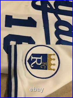 1989 Game Worn Used Issued Bo Jackson Kansas City Royals Home Jersey 48