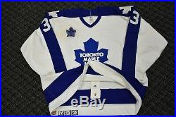 1989 Toronto Maple Leafs AL Iafrate Game Used Jersey with H. E. Ballard Patch