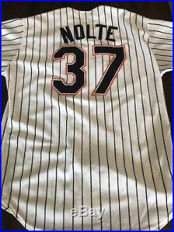 1991 SAN DIEGO PADRES game used / worn ERIC NOLTE FULL LOA CLASSIC JERSEY