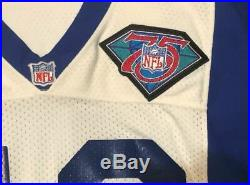 1994 Game Worn Used Johnny Bailey Los Angeles Rams Jersey 46