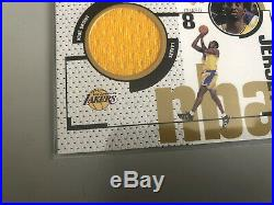 1998 Kobe Bryant UD Game Jersey 1st Ever NBA Game Used Patch Card
