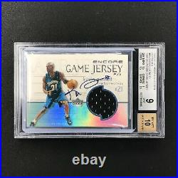2000-01 Ultimate Collection KEVIN GARNETT Game Jersey Buyback Auto BGS 9/10