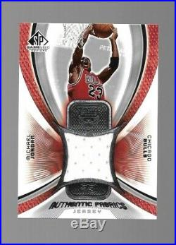 2004-05 Upper Deck SP Game Used Editions Michael Jordan Game Used Jersey