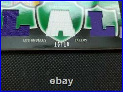 2006-07 Kobe Bryant Topps Triple Threads Emerald Relics Jersey #15/18! Game-used