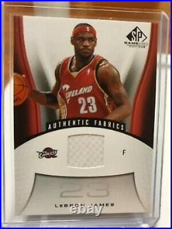 2006-07 Ud Sp Game Used #116 Lebron James Game Jersey Patch Cavaliers Lakers Mvp