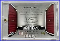 2006 SP Game Used Significance LeBron James Auto Jersey # 6/23
