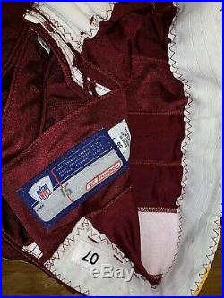 2007 Washington Redskins Todd Collins Game Used Jersey 75th And ST 21 patched
