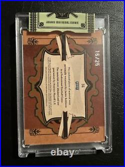 2008 Playoff Prime Cuts Game Used Jersey Jackie Robinson #/20 Brooklyn Dodgers