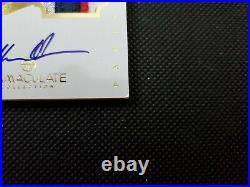 2012-13 Hakeem Olajuwon Panini Immaculate Auto Patch Jersey Sp Game-used #20/25