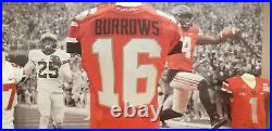 2013 Ohio State Game Used Worn Scarlet Alternate Jersey Cam Burrows