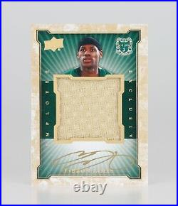 2015 LeBron James Upper Deck Employee Exclusive HS AUTO Game Used Jersey Relic