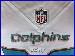 2016 Game Used/Issued Nike Miami Dolphins Jersey #36 Lippett Michigan State