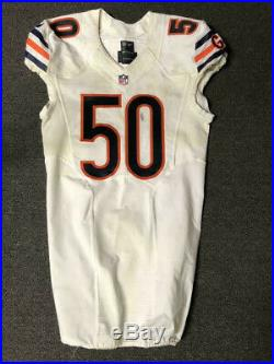 2016 Jerrell Freeman Chicago Bears Game Used Worn Nike Football Jersey! Matched