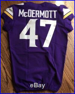 2017 Minnesota Vikings Nike Authentic Game Used Jersey Un-washed London Game