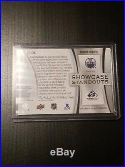 2019-20 SP GAME USED Connor McDavid Showcase Standouts Dual Jersey Auto /25 SSP