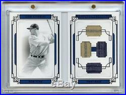 2019 National Treasures LOU GEHRIG Legends Materials GAME-USED JERSEY PANTS 2/3
