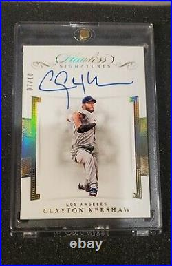 2020 panini flawless World Series Dodgers auto game used jersey patch lot