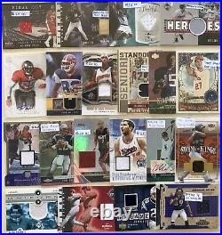 300+ Sports Card Collection High End Rookie Auto Game Used Patch Jersey Rc Lot