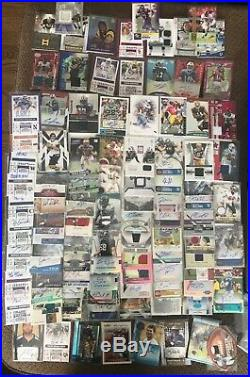 409 Football Game-Used & Autograph Card Collection ALL GAME USED JERSEY & AUTO