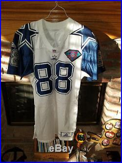 94 Dallas Cowboys Michael Irvin Game Worn-Game Used DoubleStar Throwback Jersey