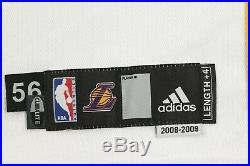 Adidas NBA Los Angeles Lakers Christmas Game Issued Kobe Bryant #24 Jersey 08/09