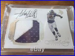 Adrian Peterson 2016 Panini Flawless Autograph Game Used Jersey 2/5 Vikings