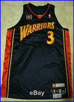 Al Harrington Golden State Warriors Game Used Jersey 2008 China Games