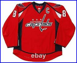 Alexander Ovechkin Game Worn/Used 2012 Capitals 10 Goals Jersey MeiGray