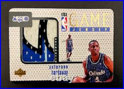 Anfernee Hardaway 1997-98 Ud Upper Deck Game Jersey Patch 3 Color Gj21 Iconic