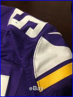 Anthony Barr Minnesota Vikings Game Used Worn Jersey With NFL Auction PSA/DNA COA