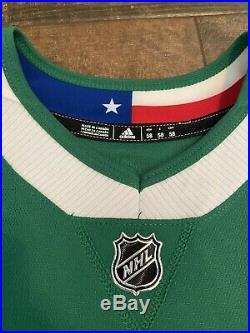 Authentic Game Worn Used Dallas Stars Winter Classic Specialty Jersey Lindell 58