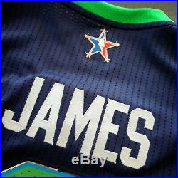 Authentic Lebron James Adidas 2014 NBA All Game Jersey Size XL Mens