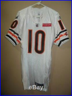 Chicago Bears 2011 Game Used NFL Football Jersey