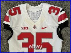 Chris Worley Game Used 2014 Ohio State Football Jersey NATIONAL CHAMPS PSU