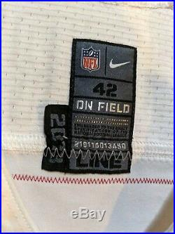 Colin kaepernick Jersey Game Used Issued Worn 2013 49ers