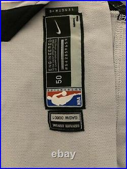 Danny Green Game Used Spurs Jersey Inscription Lakers Verified Lebron