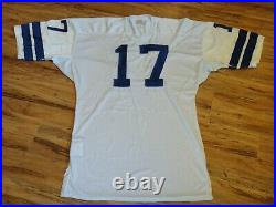 Don Meredith #17 Game Used 1966 Dallas Cowboys Jersey Grey Flannel Authenticated