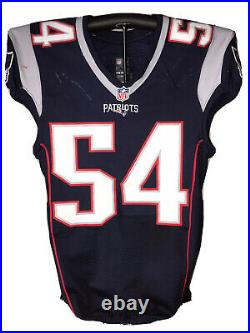 Donta Hightower Patriots Game Worn / Used Jersey 12.4.16 vs LA Rams UNWASHED