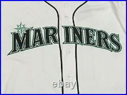 ENCARNACION size 50 #10 2019 Seattle Mariners game jersey used home white MLB
