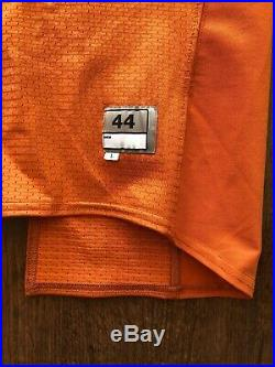 GAME USED WORN Nike Texas Longhorns Home Football Jersey