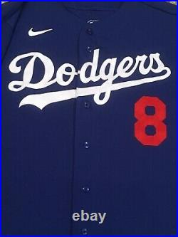 GEREN size 48 2020 Los Angeles Dodgers game jersey used ALL STAR PATCH SPRING