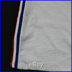 Game Used Loy Vaught Los Angeles Clippers Champion Jersey 46 +4 93-94 Photomatch