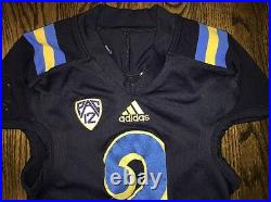 Game Worn UCLA Bruins Football Jersey Used adidas #2 Size L