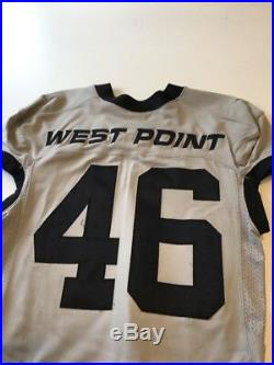 Game Worn Used Army Black Knights Football Jersey Nike #46 Size M West Point