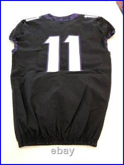 Game Worn Used Nike TCU Horned Frogs Football Jersey Size 40 #11