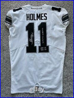 Jalyn Holmes Game Used Worn Ohio State Football Jersey Vikings