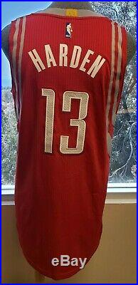James Harden #13 Game Used Jersey from 2016 Preseason Worn In China