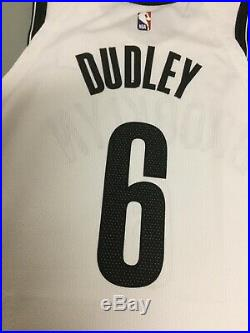 Jared Dudley Brooklyn Nets Game Used Worn Nike NBA Size 50 Jersey (STEINER/MGG)